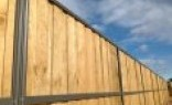 Alumitec Lap and Cap Timber Fencing